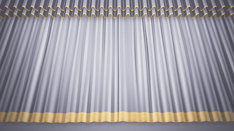 Stage Curtain 2 Uw2 Stock Video Footage