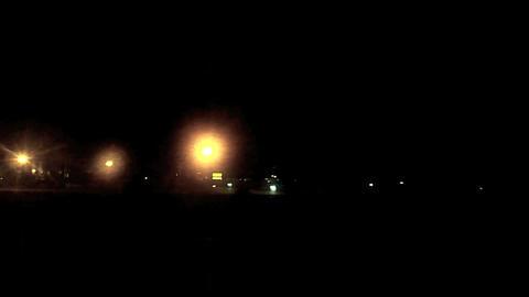 Night driving Footage