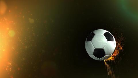 Revolving Football Title Animation