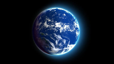 Earth loop Animation