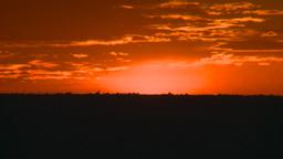 HD2008-8-1-4 early dawn fiery sky Stock Video Footage