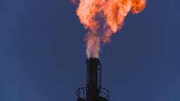 HD2008-8-1-32 gas flare Stock Video Footage