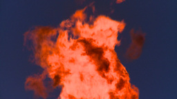 HD2008-8-1-34 gas flare Stock Video Footage