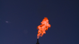 HD2008-8-1-36 gas flare Stock Video Footage