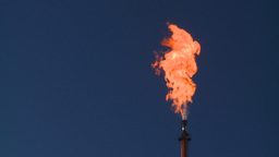 HD2008-8-1-40 gas flare Stock Video Footage