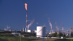 HD2008 8 1 48 gas plant and flare Footage