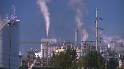HD2008-8-1-50 gas plant Stock Video Footage