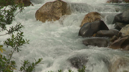 HD2008-8-2-4 mountain stream Stock Video Footage