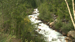 HD2008-8-2-10 mountain stream Stock Video Footage