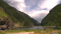 HD2008-8-2-12 traffic summit lake Stock Video Footage