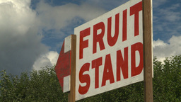 HD2008-8-2-14 fruit stand Okan Stock Video Footage