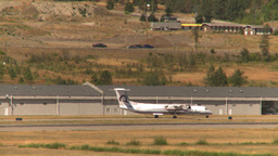 HD2008-8-2-52 taxi Dash8 Stock Video Footage