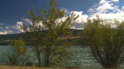 HD2008-8-2-64 drive okanagan lake Stock Video Footage