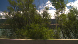 HD2008-8-2-64 drive okanagan lake Stock Video Footage