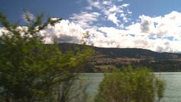 HD2008-8-2-66 drive okanagan lake Stock Video Footage