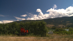 HD2008-8-2-68 drive okanagan orchards Stock Video Footage