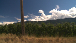 HD2008-8-2-68 drive okanagan orchards Stock Video Footage