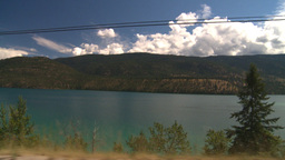 HD2008-8-2-70 drive okanagan Kal Lake Stock Video Footage
