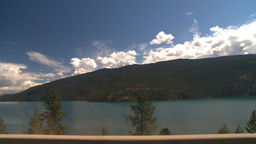 HD2008-8-2-72 drive okanagan Kal Lake Stock Video Footage