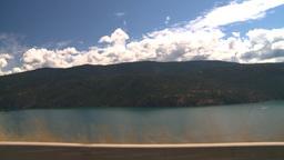 HD2008-8-3-1 drive Kal Lake Stock Video Footage