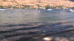 HD2008-8-3-25 Okan Lake Stock Video Footage