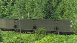 HD2008-8-3-41 coal train Stock Video Footage