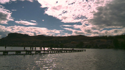 HD2008-8-4-8 Kal lake peir Stock Video Footage