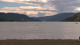 HD2008-8-4-10 Kal lake Stock Video Footage