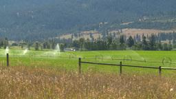 HD2008-8-4-44 farm irigation Stock Video Footage