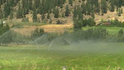 HD2008-8-4-64 farm irigation Stock Video Footage