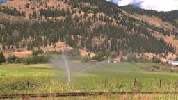 HD2008-8-4-66 farm irigation Stock Video Footage