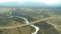 HD2008-8-5-8 aerial TCH river Footage