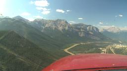 HD2008-8-5-10 C172 in flight thru windshield Stock Video Footage