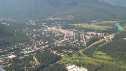 HD2008-8-5-24 aerial banff Stock Video Footage