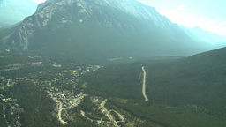 HD2008-8-5-26 aerial banff Stock Video Footage
