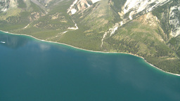HD2008-8-5-28 aerial lake minn Stock Video Footage