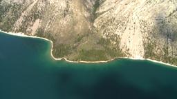 HD2008-8-5-30 aerial lake minn Stock Video Footage
