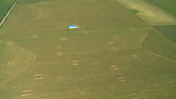 HD2008-8-5-36 aerial sgri fields Stock Video Footage