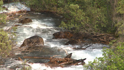 HD2008-8-6-3 mountain stream Stock Video Footage