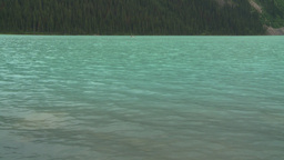HD2008-8-6-11 Lake Louise canoe distant Footage