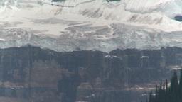 HD2008-8-6-13 glacier rock face Stock Video Footage