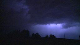 HD2008-8-6-21 lightning Stock Video Footage
