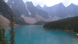 HD2008-8-7-9 Moraine lake Stock Video Footage