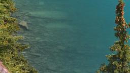 HD2008-8-7-11 Moraine lake Stock Video Footage