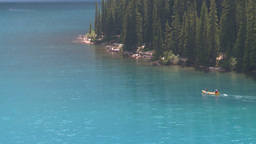 HD2008-8-7-13 canoe Moraine lake Footage