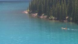 HD2008-8-7-13 canoe Moraine lake Footage