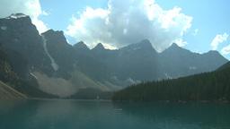 HD2008-8-7-22 Moraine lake Stock Video Footage