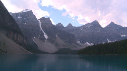 HD2008-8-7-28 Moraine lake Stock Video Footage