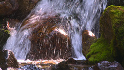 HD2008-8-7-40 mossy mtn stream Stock Video Footage