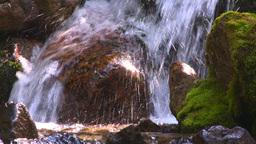 HD2008-8-7-40 mossy mtn stream Stock Video Footage
